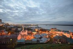город расквартировывает nizhny novgorod полуфабрикат Россию Стоковое Изображение