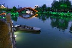 Город Рекы Хуанхэ - Кайфэна Стоковое фото RF