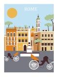 Город Рима Стоковая Фотография