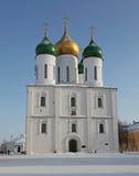 Город России Kolomna собор Asccension стоковые фотографии rf
