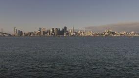 Город Сан-Франциско на заливе Стоковые Фото
