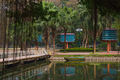 Город-сад Dovecote Ханоя Стоковые Фото