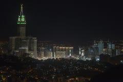 Город светлой мекки стоковые изображения