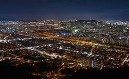 Город Сеула Стоковая Фотография