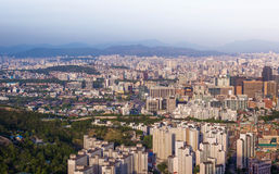 Город Сеула Стоковая Фотография RF