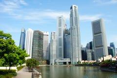 Город Сингапура Стоковая Фотография RF
