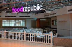 Город Сингапур Suntec фуд-корт республики еды стоковое изображение rf