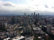 Город Сиэтл Стоковое Фото