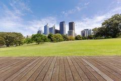 Город Сидней стоковое изображение