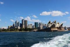 Город Сиднея, Сиднея Стоковые Изображения RF