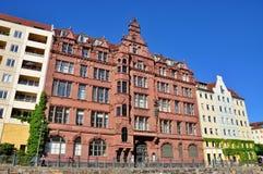 Городская архитектура в Берлине Стоковые Изображения RF