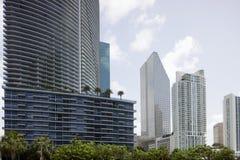 Городская архитектура Майами стоковая фотография