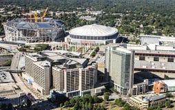 Городская Атланта, GA Стоковое Изображение RF
