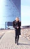 городская женщина Стоковое Изображение RF