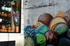 Городская жизнь внутри К Porrino 60 Стоковая Фотография