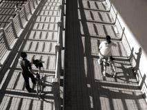 Городская жизнь мирного населения стоковое изображение