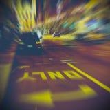 Городская жизнь на ноче Стоковые Изображения