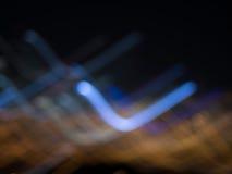 Городская жизнь ночи стоковые изображения rf