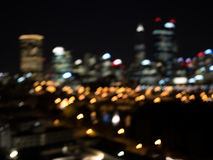 Городская жизнь ночи стоковое изображение