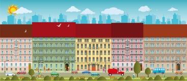 Городская жизнь бесплатная иллюстрация