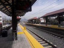 Городская линия станция золота метро Azusa стоковое изображение