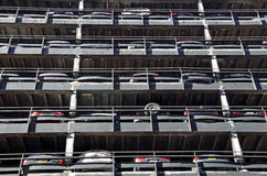 Городская картина гаража Стоковое Фото