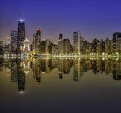 Городская миля Чикаго пышная Стоковое фото RF