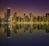 Городская миля Чикаго пышная Стоковая Фотография RF