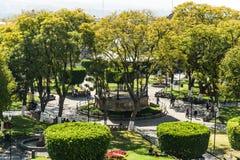 Городская площадь Morelia Стоковые Фото