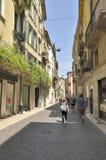Городская сцена в Вероне Стоковая Фотография RF