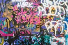Городские граффити Стоковые Изображения