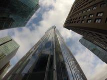 Городские здания Ванкувер Стеклянные здания Стоковые Фотографии RF
