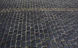 Городские каменные вымощая камни Стоковое Фото