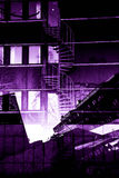 Городские предпосылки города Стоковое Фото