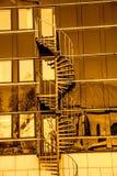 Городские предпосылки города Стоковое Изображение RF