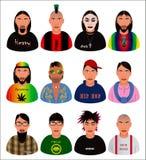 Городские племена Стоковое Фото