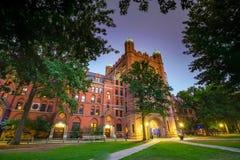 Городские New Haven и Йельский университет Стоковые Изображения