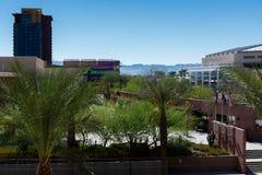 Городские streetscapes и здания в городском Фениксе, AZ Стоковые Фотографии RF