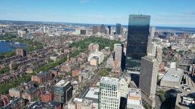 Городское Бостон Город имеет один из самых высоких прожиточных минимумов в Соединенных Штатах акции видеоматериалы