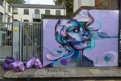 Городское искусство улицы в Лондоне Стоковая Фотография