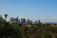 Городское Лос-Анджелес от Elysian парка III Стоковые Фото