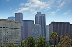 Городское Лос-Анджелес Стоковая Фотография