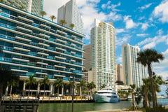Городское Майами Стоковая Фотография RF