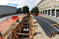 Городское развитие Стоковые Изображения RF