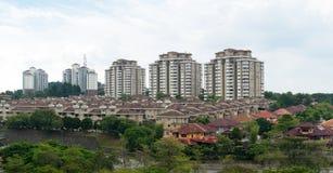 Городское снабжение жилищем стоковое изображение rf
