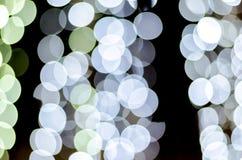 Городское bokeh света ночи города, defocused предпосылка нерезкости Стоковая Фотография