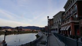 Городское Napa Valley Стоковые Изображения