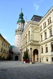 Городской ландшафт в Sopron (Ã-denburg), Венгрии стоковая фотография rf