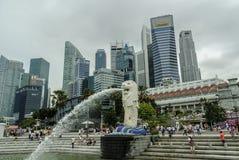 Городской ландшафт Сингапур Стоковое Изображение RF