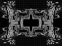 Городской вектор конструкции городского пейзажа Стоковые Изображения RF